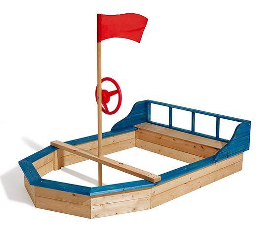 Sandkasten »Schiff«