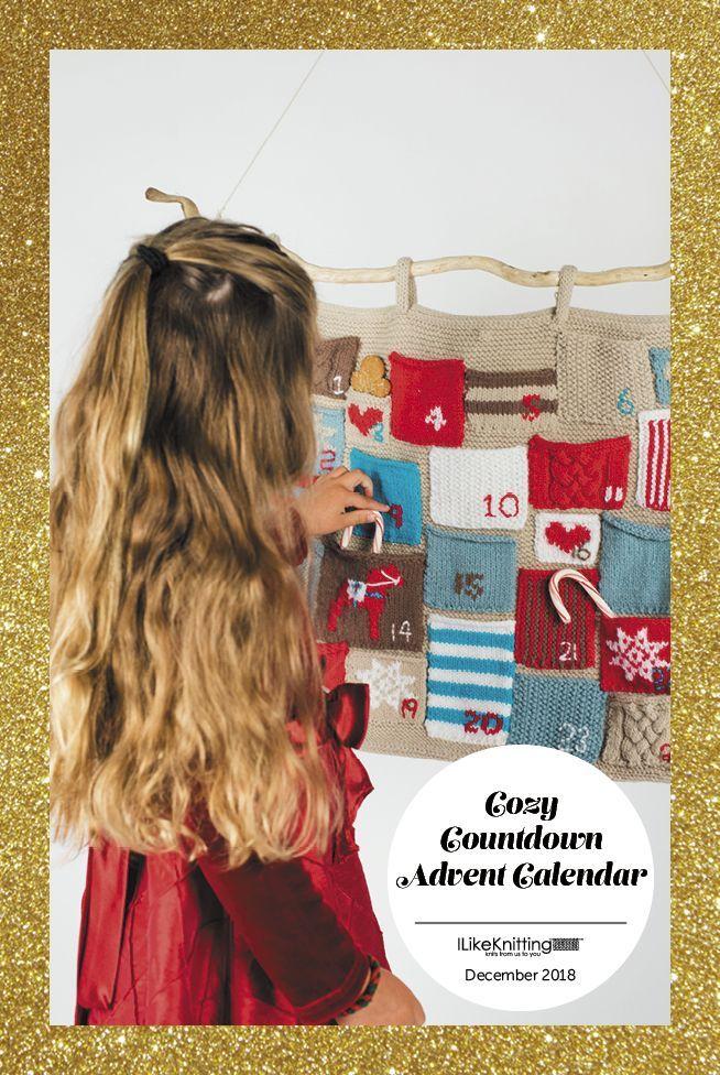 Cozy Countdown Advent Calendar Craft Ideas Pinterest How to