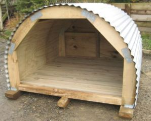 Goat house plans design