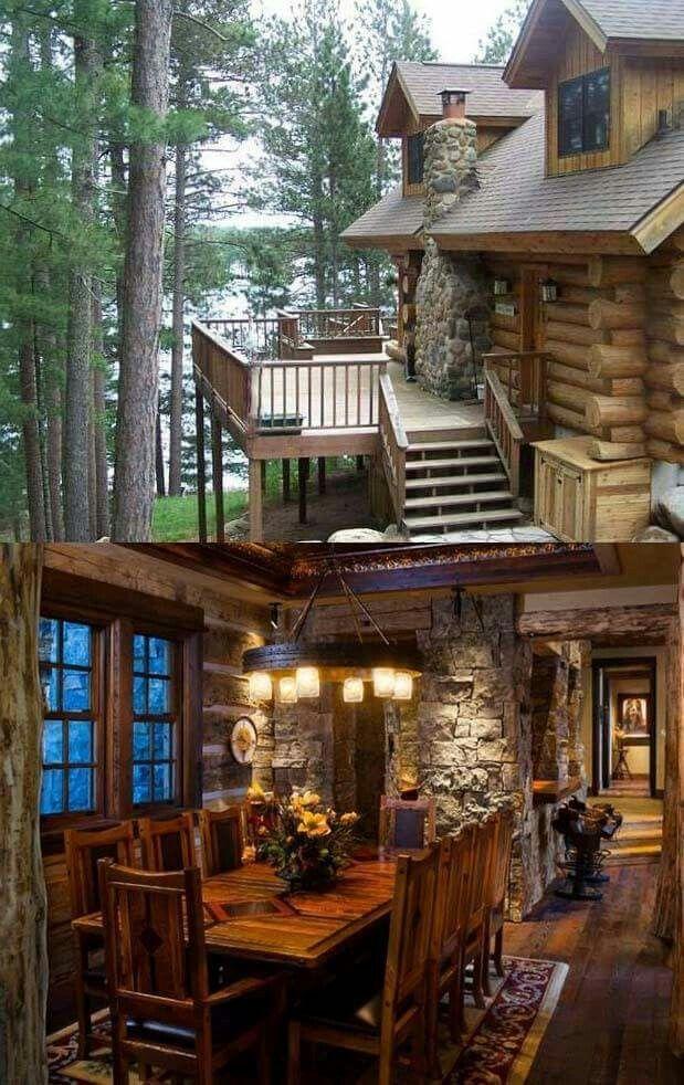 Nadire Atas On Dream Homes Log Homes House Styles Log Cabin Homes