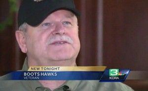 Boots Hawks, a 20 Year Army Vet, Suspended from Hospital Job Just Before Veterans Day  -  All Because of A Well-Known Patriotic Phrase...God Bless America