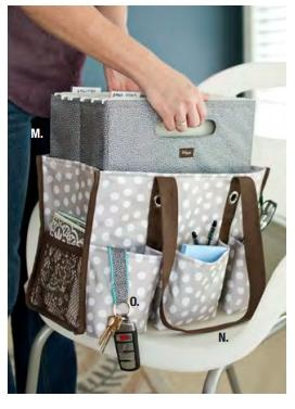 "Thirty One - Fold n File (10""H x 12.25""W x 6.5""D) fits inside Organizing Utility Tote  www.mythirtyone.com/shopyesenia"