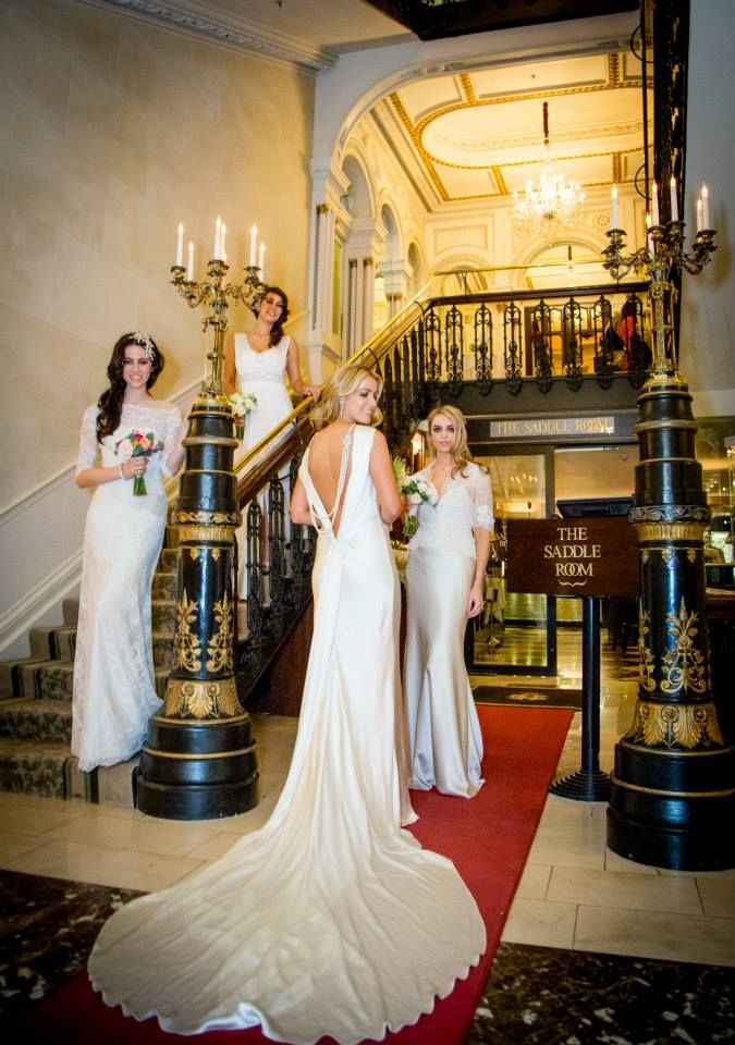Myrtle Ivory Fashion show in The Shelbourne as part of The Shelbourne Wedding Forum