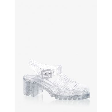 Sandały Buble Jelly See Through Glitter Sandals