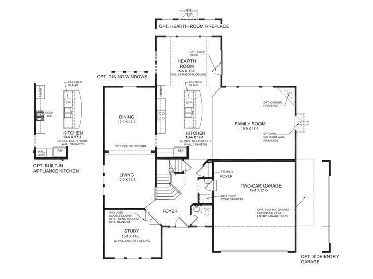 Fischer Homes Bradford Floor Plan Home Design And Style