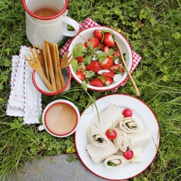 Picknick-menu - Dille & Kamille | 't is zomer!