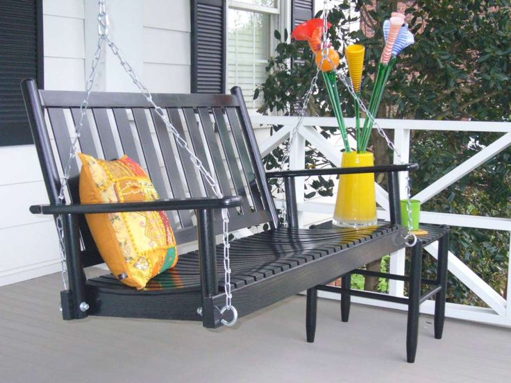 Amazing Modern Porch Swings Design ~ http://www.lookmyhomes.com/modern-porch-swings-ideas/