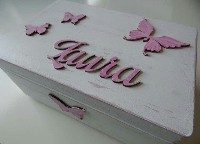 Motyle,  róż,  shabby chic... Kocham