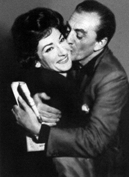 Maria Callas and Luchino Visconti