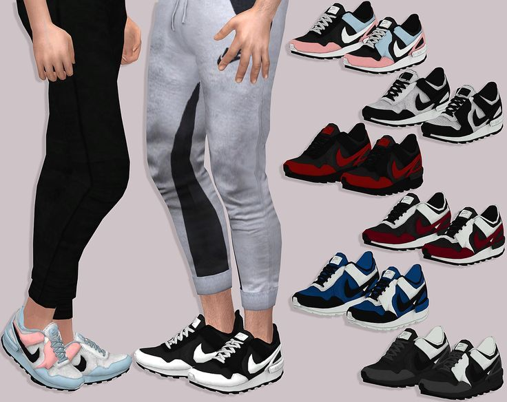 sims 4 nike shoes modeling chocolate 952082
