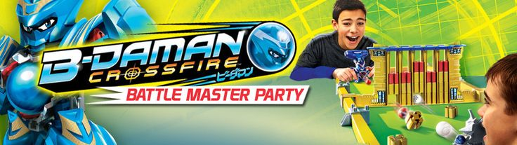 Get a FREE Beyblade House Party Park-