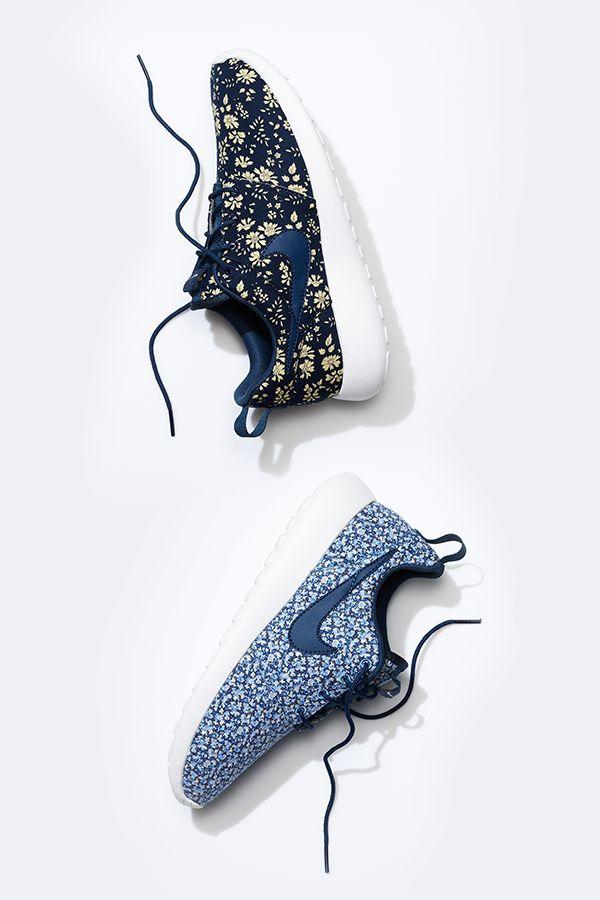 #LibertyLondon sophistication meets Roshe. #Nike