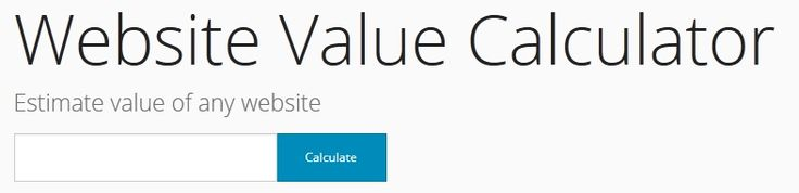 http://valuewebsite.org  #WebsiteValueCalculator