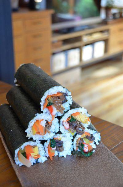 頼まれキンパとパンたち。。。そして遠足弁当。 by sobokuさん ...
