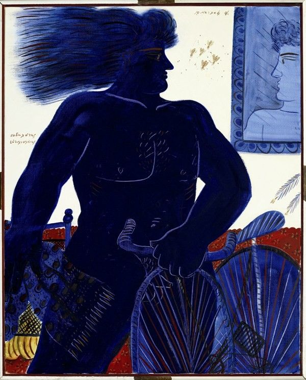 .:. Le Cycliste heureux ALECOSFASSIANOS Born in athens, in 1935.