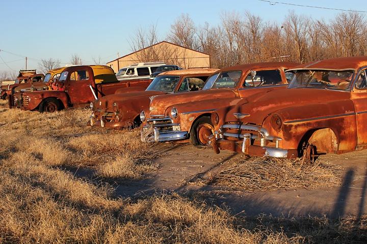 On Route 66 near Miami, Oklahoma
