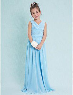 Chiffon, Junior Bridesmaid Dresses, Search LightInTheBox
