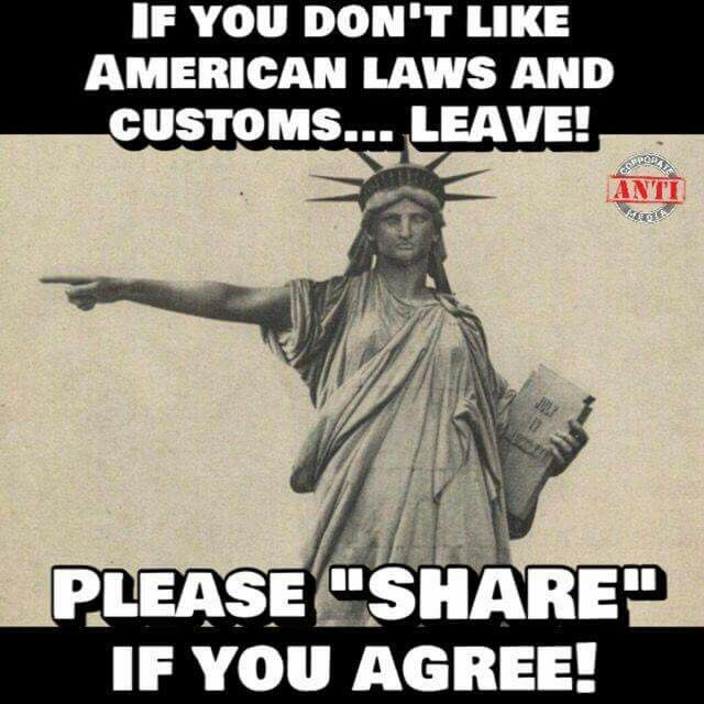 I agree and I share: WE WON'T BE RECONSTRUCTED AND WE REALLY DON'T GIVE A DAMN IF YOU'RE OFFENDED. I have yet to hear of any jet planes firing up for those who said they'd leave if Trump won. Wow such drama they threw.