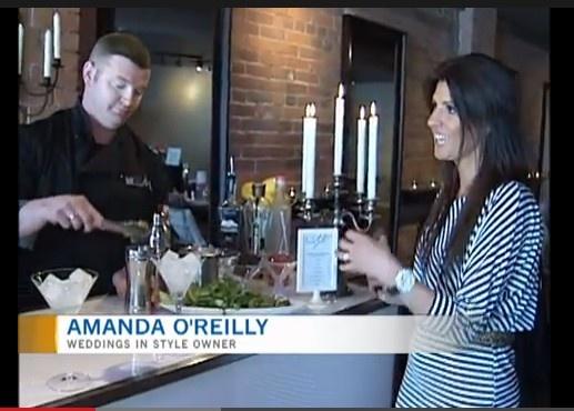 Amanda O'Reilly talk Food & Drink Trends For Weddings/ Events. Weddings InStyle Ottawa. Ottawa's Wedding Venue. www.weddingsinstyle.ca  www.facebook.com/weddingsinstyle