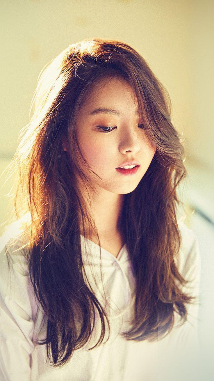 Wallpaper iphone girl hd - Girl Kpop Bokeh Cute Wallpaper Hd Iphone