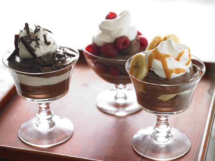 Soy-Silken Dark Chocolate Pudding #dairyfree #vegan #dessert #recipe #soyswaps