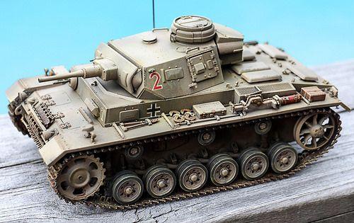 Pz III Ausf J DAK Afrika Korps