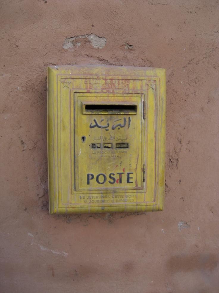 Postbox, Marrakech