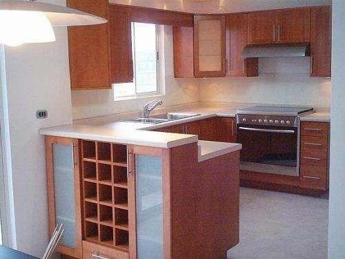 M s de 25 ideas incre bles sobre cocinas integrales de for Cocinas pequenas en madera