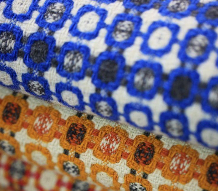 The wonderful patterns in our beloved vintage Mantecas