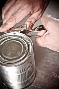 How to Make a Tin Can WiFi Booster.  Instead of Two Tin Cans and a String, it's One Tin Can and No String.  Progress!