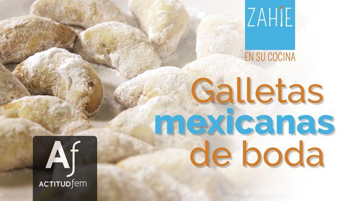 Cuernitos de Nuez | Galleta mexicanas de boda | Zahie en su cocina | Act...