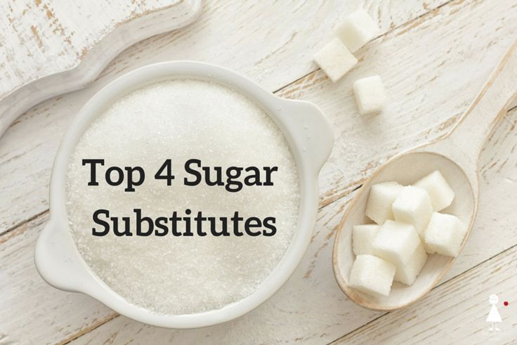See our top 4 sugar substitutes, and the nutritional benefits they offer.