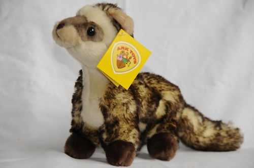The sanctuary is a charity and as such relies entirely on donations. All money raised from the sale of these items will go straight to the animal's welfare. The Warwickshire Wildlife Sanctuary has three resident Ferrets; named Baz, Bear, and Rolo. - http://www.ebay.co.uk/itm/Ferret-Soft-Toy-/150622820103?pt=UK_Soft_Toys_Bears=item2311d1d707