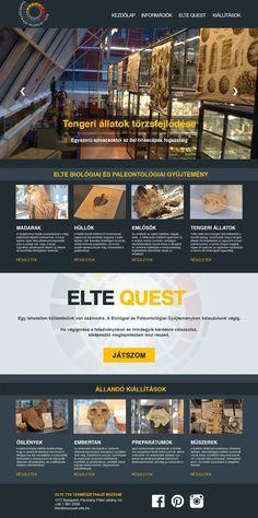 Horváth Tímea - ELTE Quest webdesign