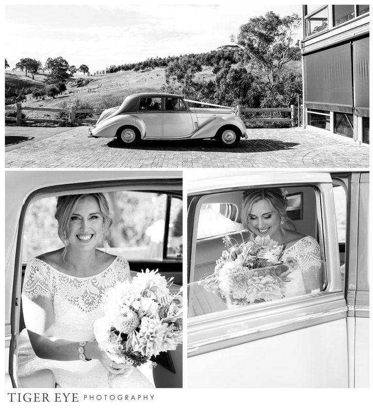 Adelaide Hills wedding ceremony - Tiger Eye Photography