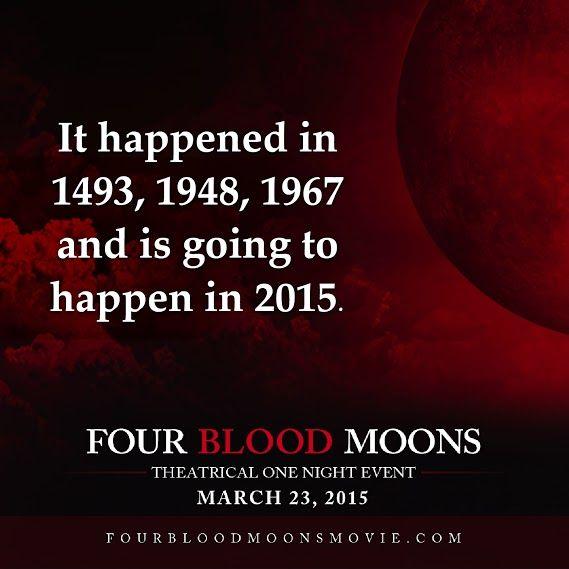 sermon on blood moons - photo #26