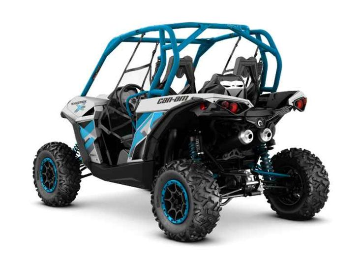 New 2016 Can-Am Maverick X ds TURBO 1000R Hyper Silver & ATVs For Sale in Michigan. 2016 Can-Am Maverick X ds TURBO 1000R Hyper Silver & Octane Blue, For more information please contact: Ryan Hush 248-858-2300 ext:1112 For more information please contact: Ryan Hush 248-858-2300 ext:1112 2016 Can-Am® Maverick 1000R Lead the pack with the most powerful two-seater sport side-by-side in the industry. Its 101-hp engine leads the way, and its rider-focused design and impressive handling provide a…