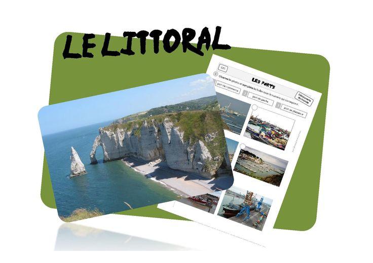 Le littoral: paysages et lecture de cartes