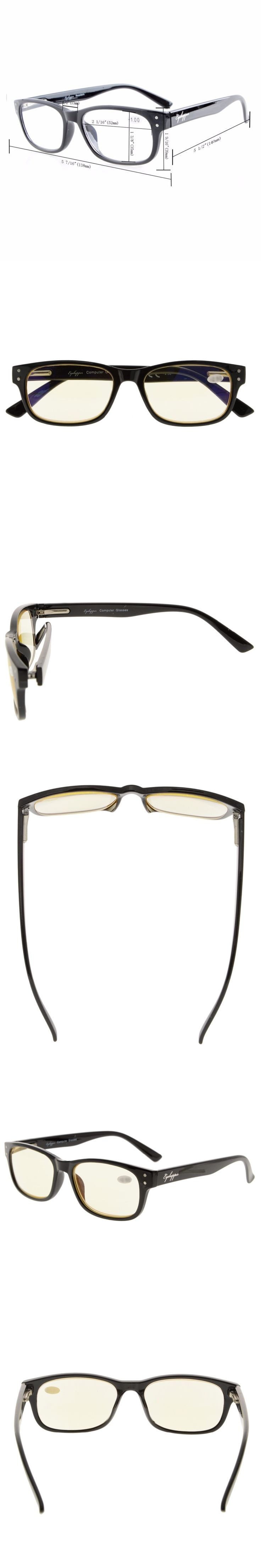 CG094 Eyekepper Spring-Hinges with UV Protection, Anti Blue Rays, Anti Glare and Scratch Resistant Lens Computer Reading Glasses