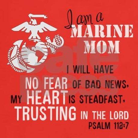 No Fear Marine Mom T-Shirt