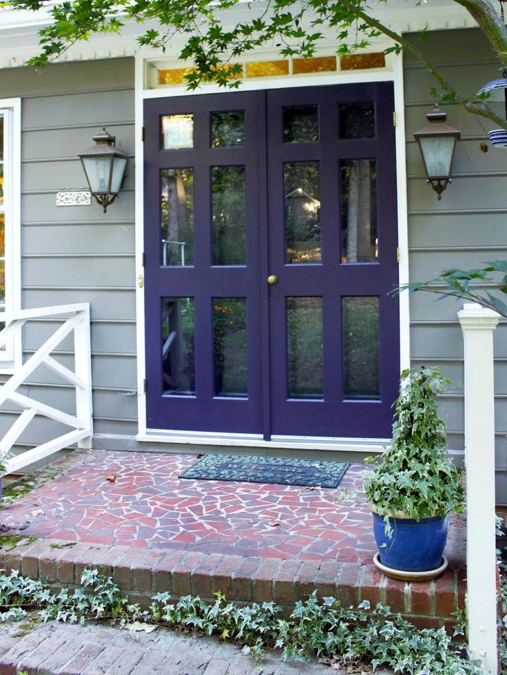 Popular Front Door Colors 36 best images about outside doors, painting & porches on