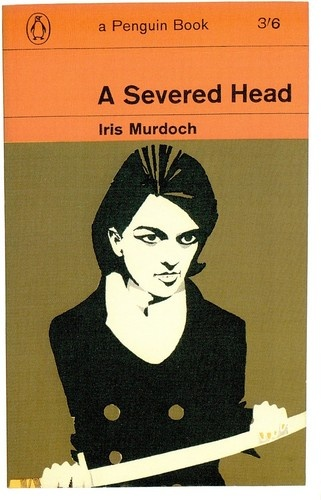 Postcard A Severed Head Iris Murdoch Penguin Book Cover | eBay