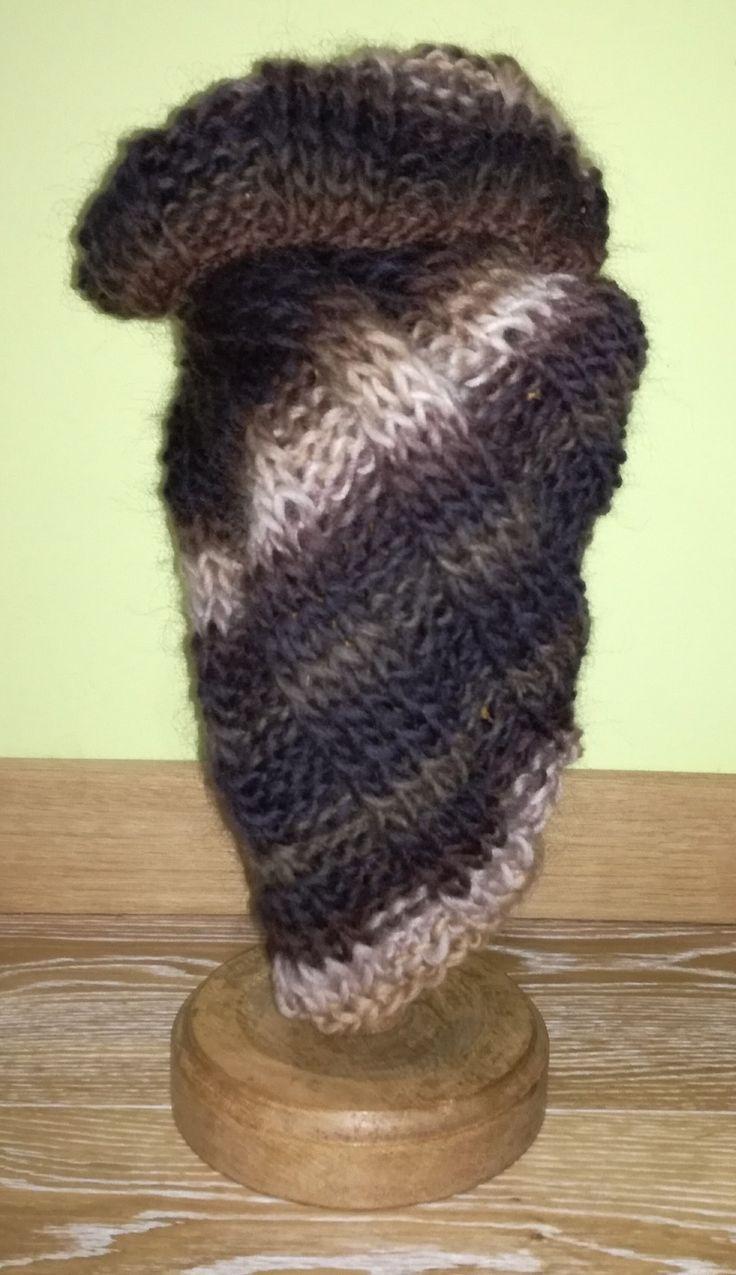 Collo in morbida lana melange : Sciarpe, foulard, cravatte di blanka-artigianatoresistente  per I primi freddi il must have dell inverno. #freddo #blanka #artigianato #fattoamano