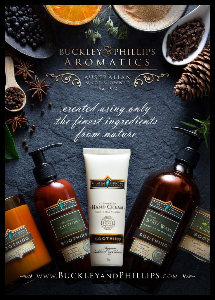 Aromatherapy products - Full page cover advert in Giftwrap magazine. April 2014