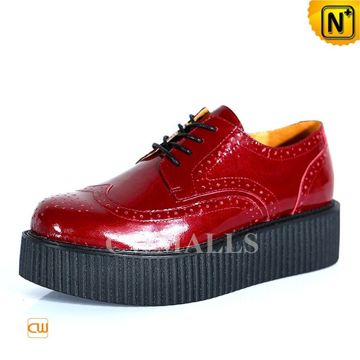 CWMALLS Mens Red Platform Brogue Shoes CW721610 Designer red leather platform shoes for men, crafted from full grain cowhide leather as the upper with supple pigskin insole, classic brogue design, your moves will be so smooth with these height increasing platform shoes. www.cwmalls.com PayPal Available (Price: $197.89) Email:sales@cwmalls.com