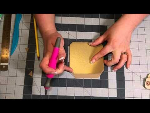 ▶ Envelope Punch Board Library Pocket Tutorial - YouTube