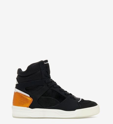 Alexander McQueen x Puma | Multicolor Move Paneled Leather High-Top Sneakers  | Lyst