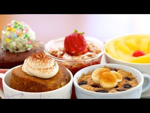 Chocolate Mug Cake Trio (Molten Lava Cake & more!) - Bigger Bolder Baking 98 - YouTube
