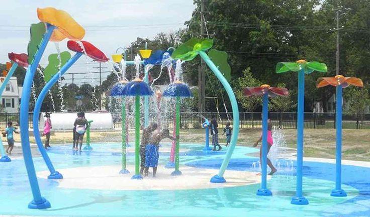 Vortex Splashpad at Norview Community Center, Norfolk, VA
