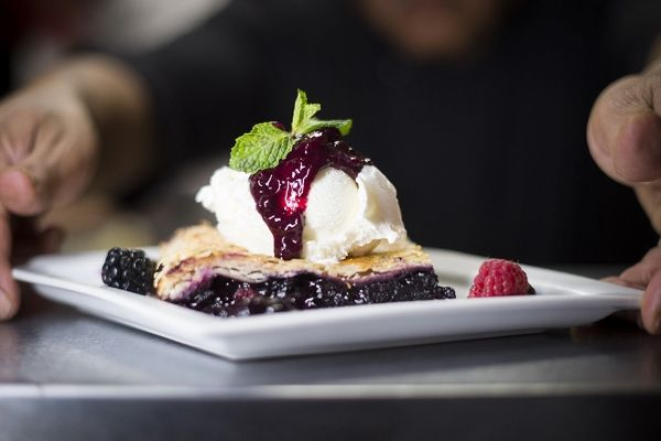 Salmon n' Bannock Bistro's Wild Berry Pie! Canada's Aboriginal sweet treats & desserts.
